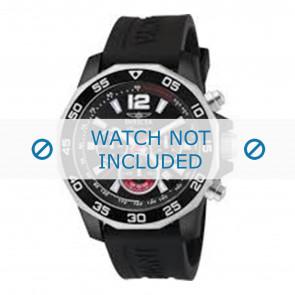 Invicta cinturino dell'orologio 7433 Gomma Nero 22mm