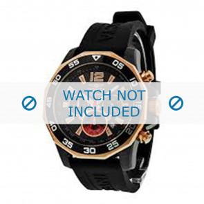 Invicta cinturino dell'orologio 7435 Gomma Nero 22mm