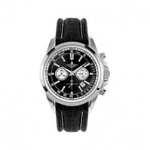 Cinturino per orologio Jacob Jensen 1-1117AN Pelle Nero 22mm