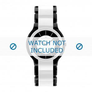 Jacques Lemans cinturino dell'orologio 1-1582E Ceramica Multicolore