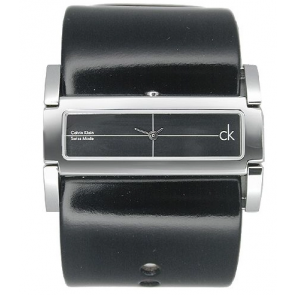 Cinturino per orologio Calvin Klein K44231 Pelle Nero
