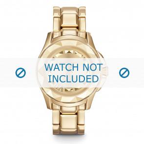 Karl Lagerfeld cinturino dell'orologio KL1026 Metallo Placcato oro