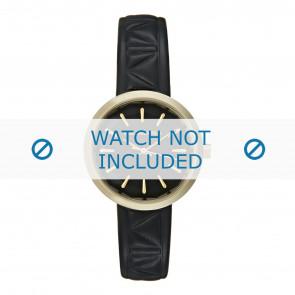 Karl Lagerfeld cinturino dell'orologio KL1610 Pelle Nero