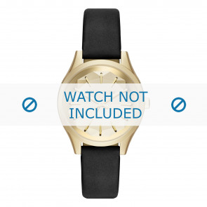Karl Lagerfeld cinturino dell'orologio KL1617 Pelle Nero