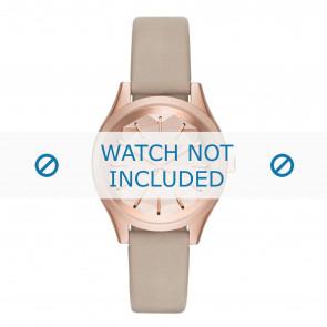 Karl Lagerfeld cinturino dell'orologio KL1619 Pelle Beige