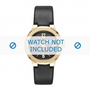 Karl Lagerfeld cinturino dell'orologio KL3410 Pelle Nero