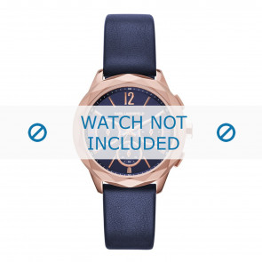 Karl Lagerfeld cinturino dell'orologio KL4010 Pelle Blu
