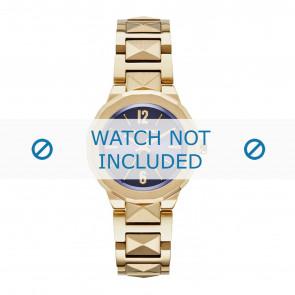 Karl Lagerfeld cinturino dell'orologio KL3407 Metallo Placcato oro