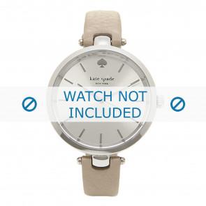 Kate Spade New York cinturino dell'orologio 1YRU0813 / Holland Pelle Taupe