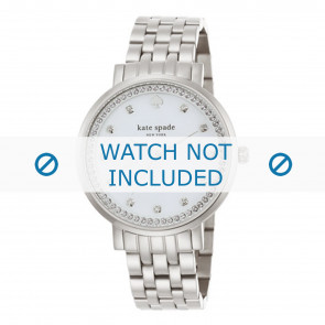 Kate Spade New York cinturino dell'orologio 1YRU0820 / MONTEREY Metallo Argento