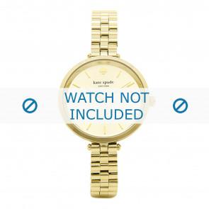 Kate Spade New York cinturino dell'orologio 1YRU0858 / Holland Metallo Placcato oro