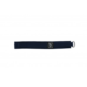 Cinturino per orologio Universale 5883-06-20 Velcro Blu 20mm