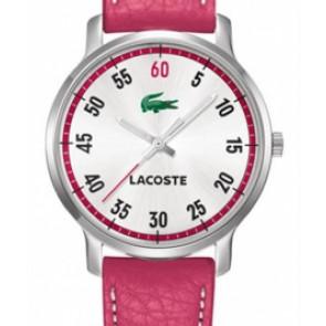 Cinturino per orologio Lacoste 2000567 / LC-41-3-14-2199 Pelle Rosa 20mm