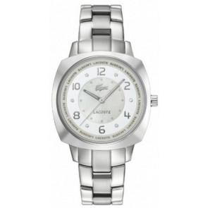 Cinturino per orologio Lacoste 2000601 / LC-47-3-14-2233 Acciaio Acciaio inossidabile 18mm