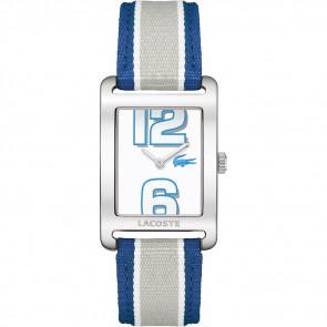 Cinturino per orologio Lacoste 2000693 / LC-51-3-14-2261 Pelle Blu 20mm
