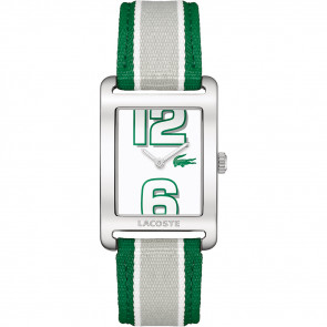 Cinturino per orologio Lacoste 2000696 / LC-51-3-14-2261 Pelle Verde 20mm