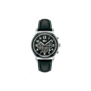 Cinturino per orologio Lacoste 2010333 / LC-11-1-14-0032 Pelle Nero 22mm