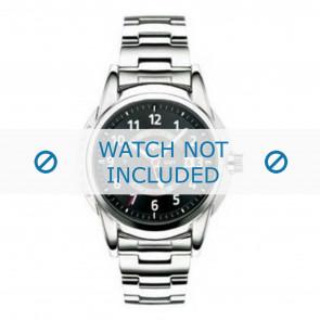 Lacoste cinturino dell'orologio LC-08-1-14-0018 / 2010311 Metallo Argento