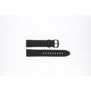 Lorus cinturino orologio PC32-X063 Gomma Nero 22mm