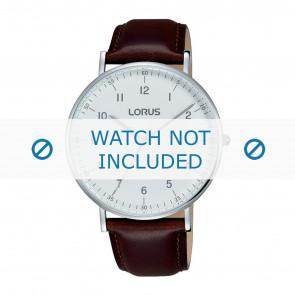 Lorus cinturino dell'orologio VJ21 X071 / RH895BX9 Pelle Marrone 20mm + cuciture marrone