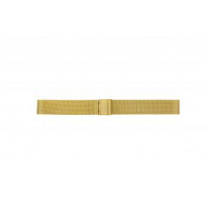Other brand cinturino dell'orologio MESH18DBL Metallo Oro 18mm