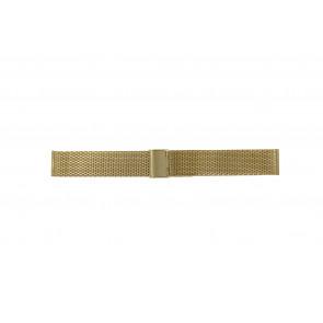 Cinturino per orologio Other brand MESH-20.3 Acciaio Placcato oro 20mm