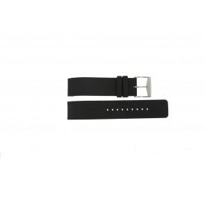 Michael Kors cinturino dell'orologio MK8040 / MK8055 Gomma Nero 22mm