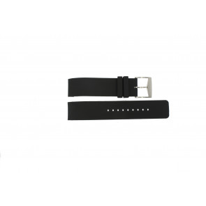Cinturino per orologio Michael Kors MK8040 / MK8055 Gomma Nero 22mm