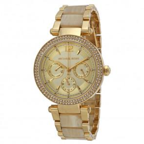 Cinturino per orologio Michael Kors MK5956 Acciaio Placcato oro