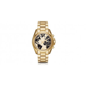 Cinturino per orologio Michael Kors mk6272 Acciaio Placcato oro