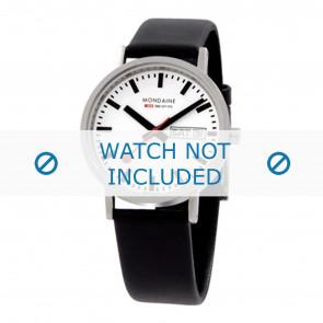 Mondaine cinturino dell'orologio A667.30314.11SBB / BM20028 / 30300 / 30314 / Classic 36 / Evo 35  Pelle Nero 18mm