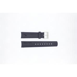 Cinturino per orologio Nautica A18640G / A30004G / A12627G / A12627G Gomma Blu 22mm