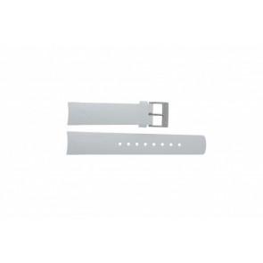 Nautica cinturino orologio A31504G / A30005G / A16586G Gomma Bianco 22mm