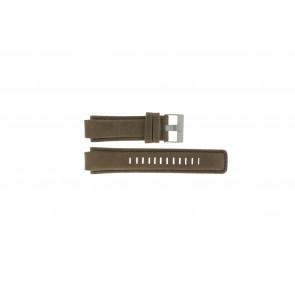 Timex cinturino dell'orologio P2N721 / 45601 Pelle Marrone 16mm