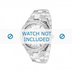 Adidas cinturino orologio ADH2506 Plastica Bianco 22mm