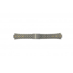 Pulsar cinturino dell'orologio V657-8000 / PJN010P1 / 70Q6XG Titanio Bi-colore 11mm