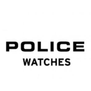 Police cinturino dell'orologio PL-14385J Pelle Nero