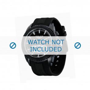 Police cinturino dell'orologio P-12076J/JSB/02 Gomma / plastica Nero