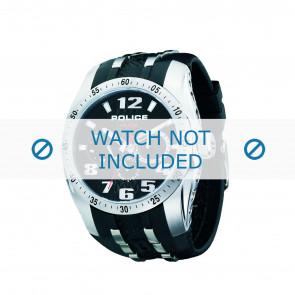 Police cinturino dell'orologio PL-12087J-02 Gomma / plastica Nero