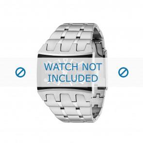 Police cinturino dell'orologio 13420js/02MA Metallo Argento