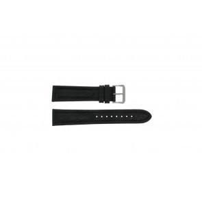 Cinturino per orologio Pulsar Y182-6C100 Pelle Nero 20mm