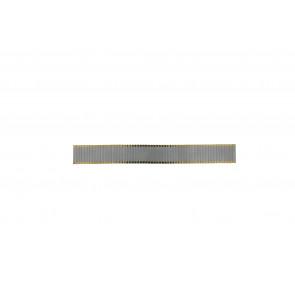 Cinturino per orologio Universale Rowi Bi-color Acciaio Bi-colore 20mm
