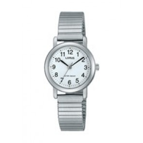 Lorus cinturino dell'orologio RRS81VX9 / V501 X471 / RHN148X Metallo Argento 13mm