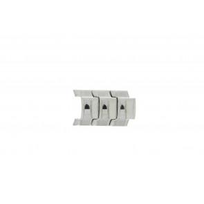 Fossil JR8142 Collegamenti Acciaio Argento 20mm