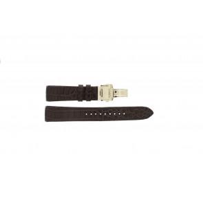 Cinturino per orologio Seiko 5D88-0AA0 / SRX004P1 / 4A072JL Pelle Marrone 21mm