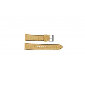 Seiko cinturino orologio 7T92-0NK0 Pelle Marrone 22mm