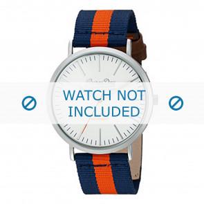 Superdry cinturino dell'orologio SYG183UO Nylon / perlon Blu