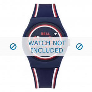 Superdry cinturino dell'orologio SYG198UR Plastica Blu