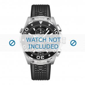 Tag Heuer cinturino dell'orologio CAJ2180.FT6023 Gomma / plastica Nero