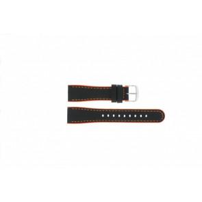 Timex cinturino orologio T2N428 Pelle Nero 22mm